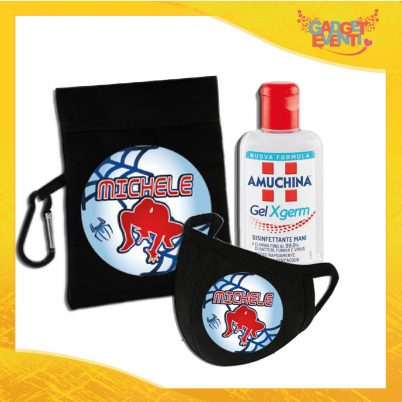 kit igienizzante bimbo personalizzato con nome uomo ragno